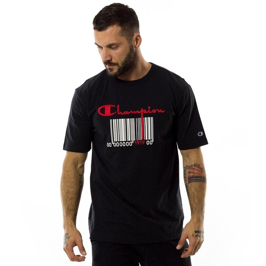 49c3d2308a5d Champion t-shirt Reverse Weave Barcode black (111076 F18 KK001) Click to  zoom ...