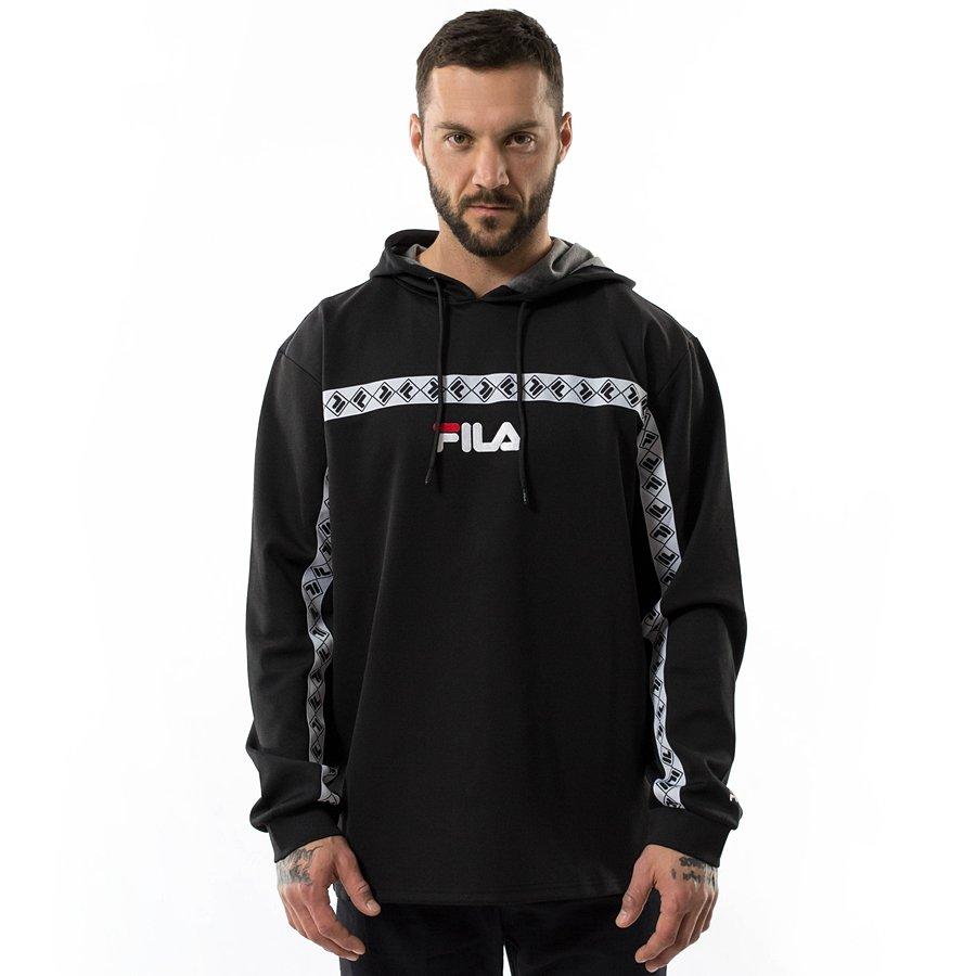40e03e3af8 FILA Jaxon Hooded Sweatshirt Men black