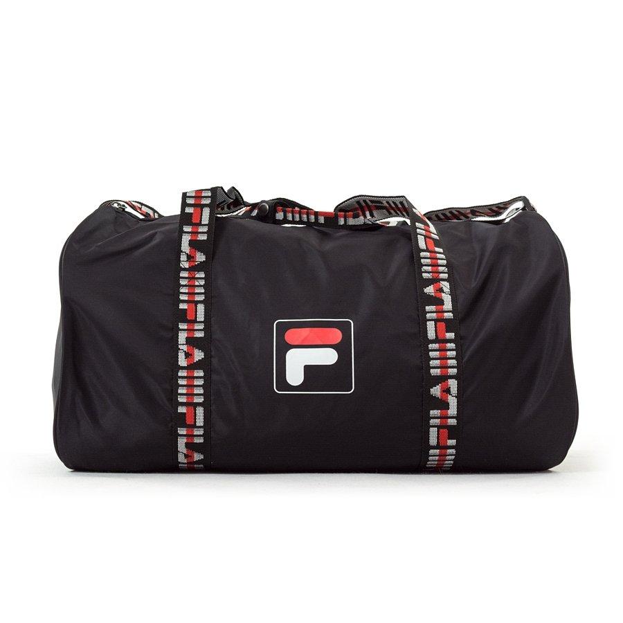 urzędnik Gdzie mogę kupić sklep w Wielkiej Brytanii Fila sport bag Barrel Bag Retro Nylon black