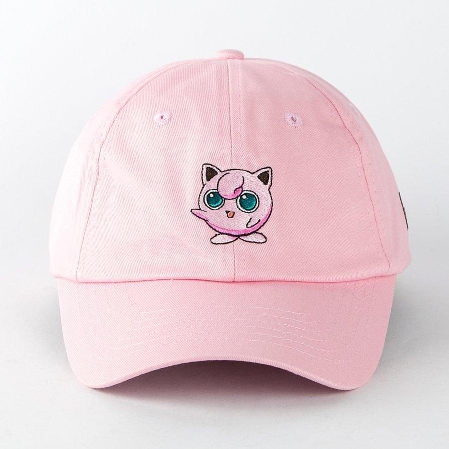 Hype x Pokemon strapback Jigglypuff pink  dccc25f2c56