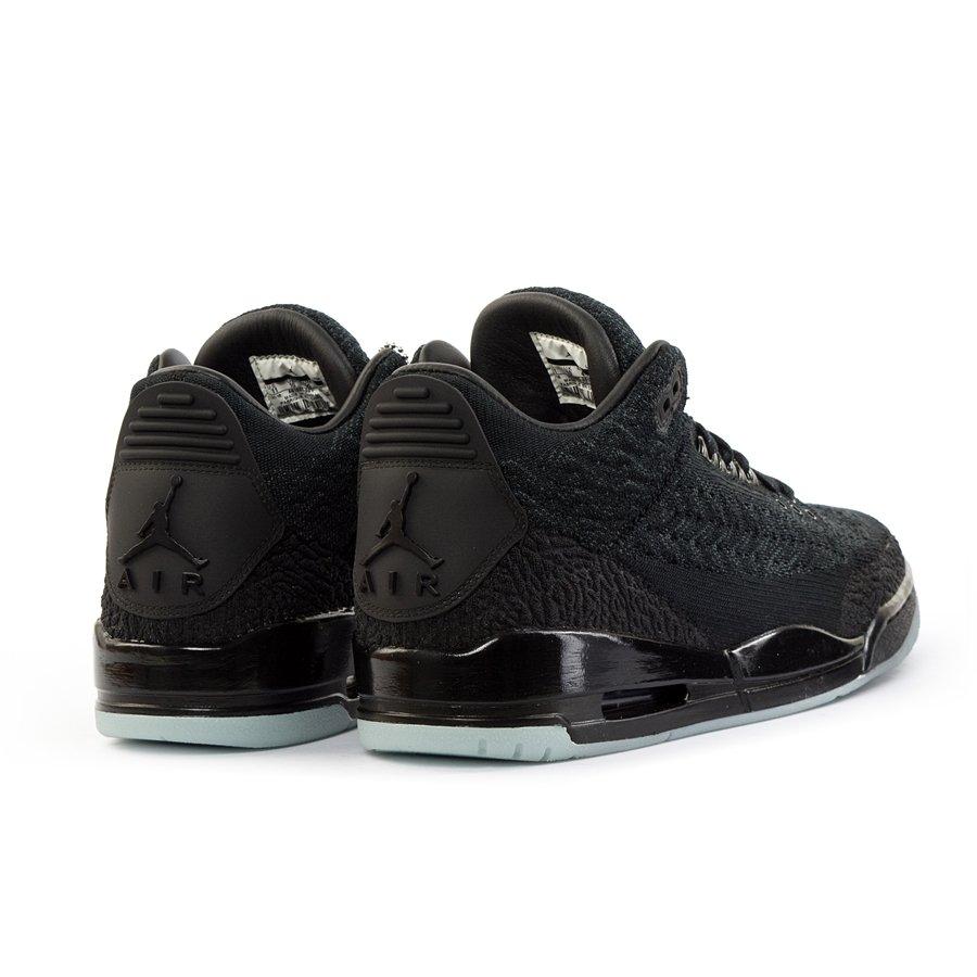 new arrival 7fb01 5398a Jordan 3 Retro Flyknit black (AQ1005-001)