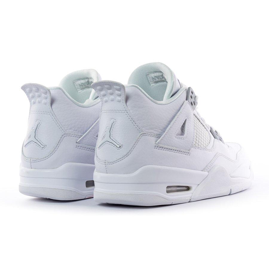 best service d18d0 3649c ... Jordan 4 Retro BS Pure Money white (408452-100) TM Click to zoom ...