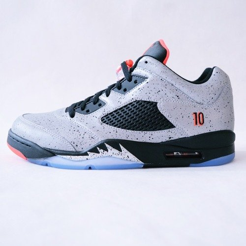 cba0279a02f006 Jordan V Retro Low x Neymar reflect silver   infrared 23 black (846315-025  Click to zoom ...