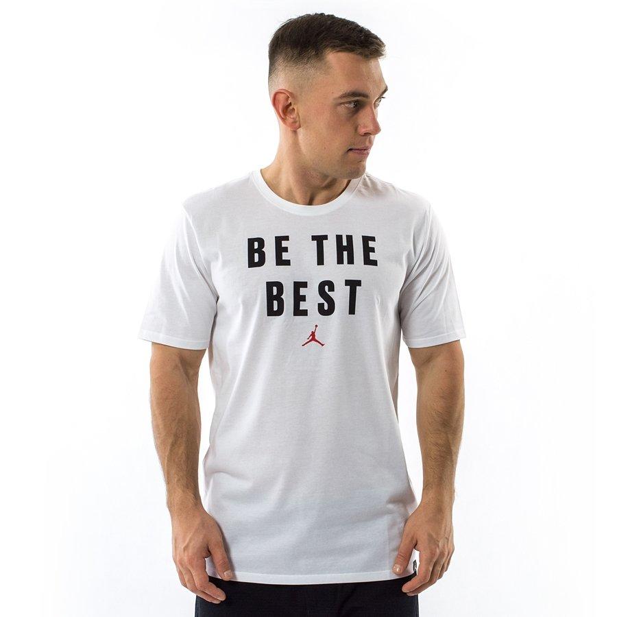 354e0725f145b6 Jordan t-shirt Beat The Best Dri Fit white (886120-100) Click to zoom ...