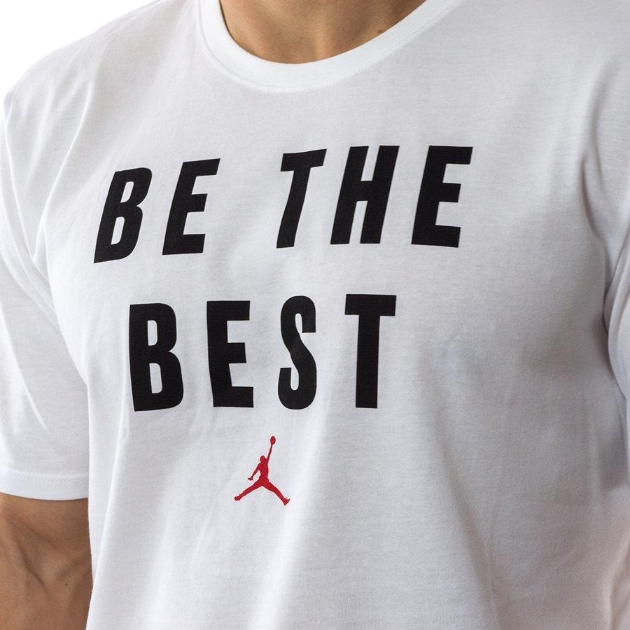 007e001692eef6 ... Jordan t-shirt Beat The Best Dri Fit white (886120-100) Click to zoom