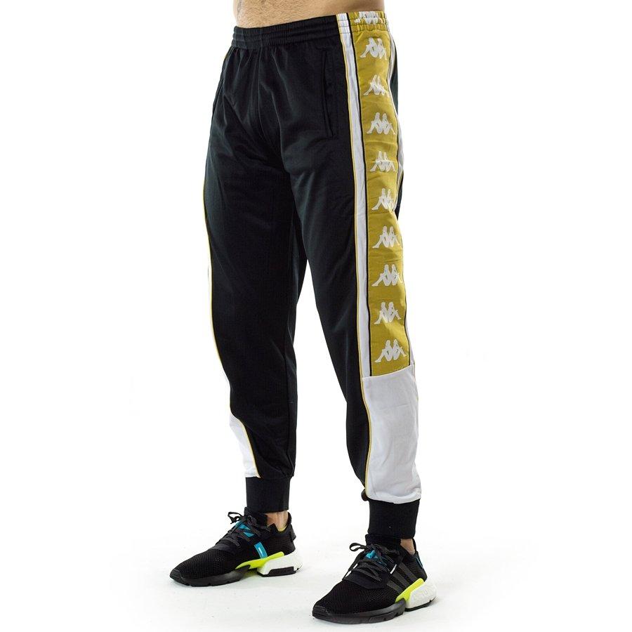 e5526cc49b Kappa pants Authentic Banda Alen Sport Trousers black / / white gold