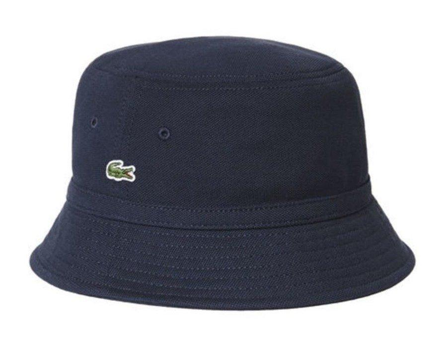 12e10ab7 Lacoste bucket hat Pique marine