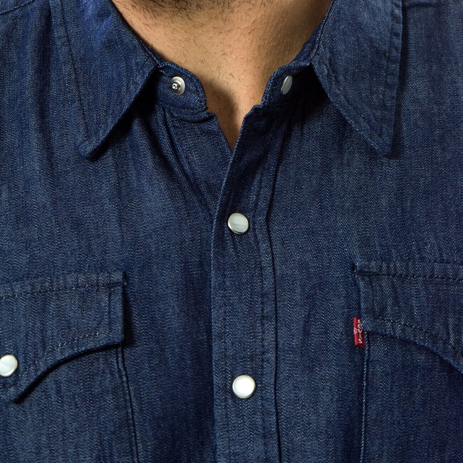 ... Levis Skateboarding Western Shirt rinse (56539-0000) Click to zoom ... 18af9e35a69