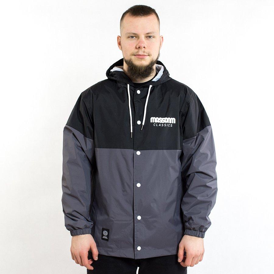 4dbc13420fffb Mass Denim jacket Sprint black / grey Black / Grey | Jackets ...