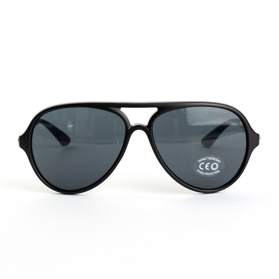 b54e0b27044 Mass Denim sunglasses George matte black   gold Matte Black   Gold ...