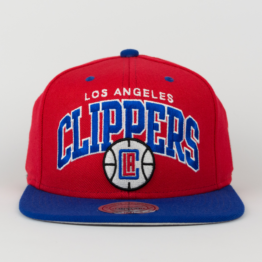 9c3dc2d947c Mitchell   Ness snapback Team Arch Los Angeles Clippers red   blue Click to  zoom ...