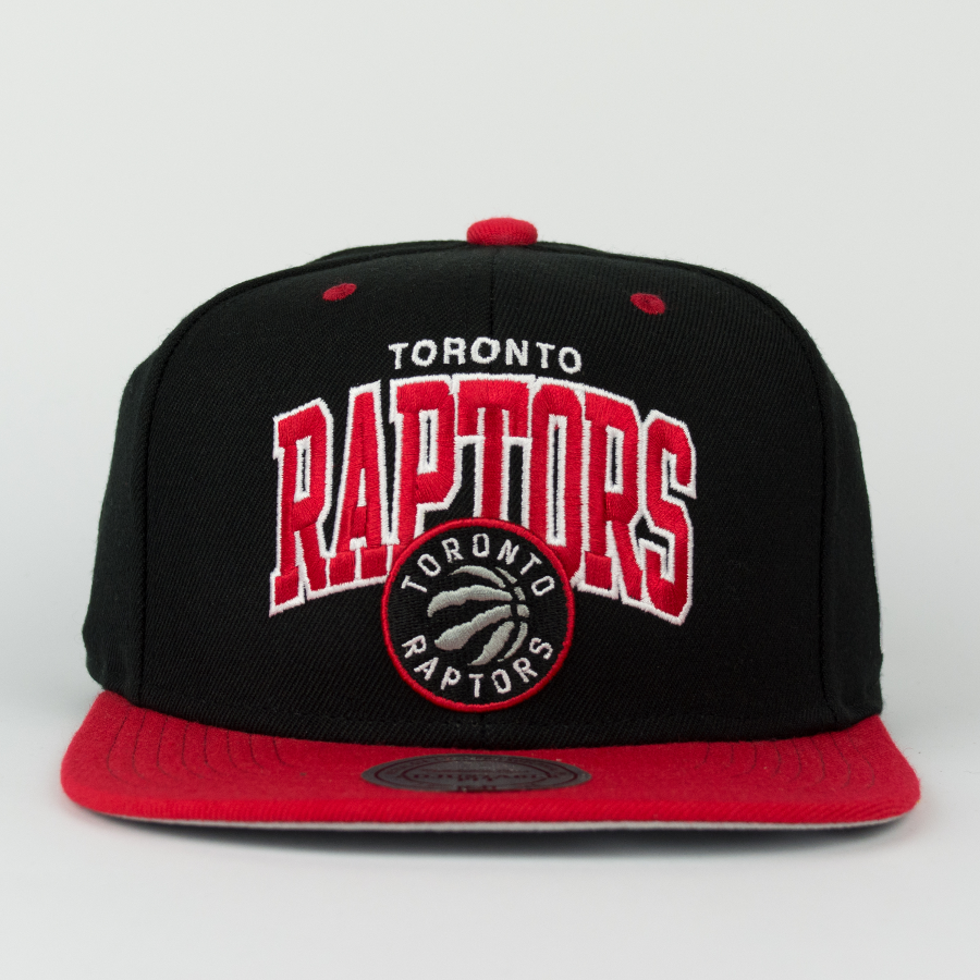 Mitchell   Ness snapback Team Arch Toronto Raptors black   red Click to  zoom ... eaaba42851f8