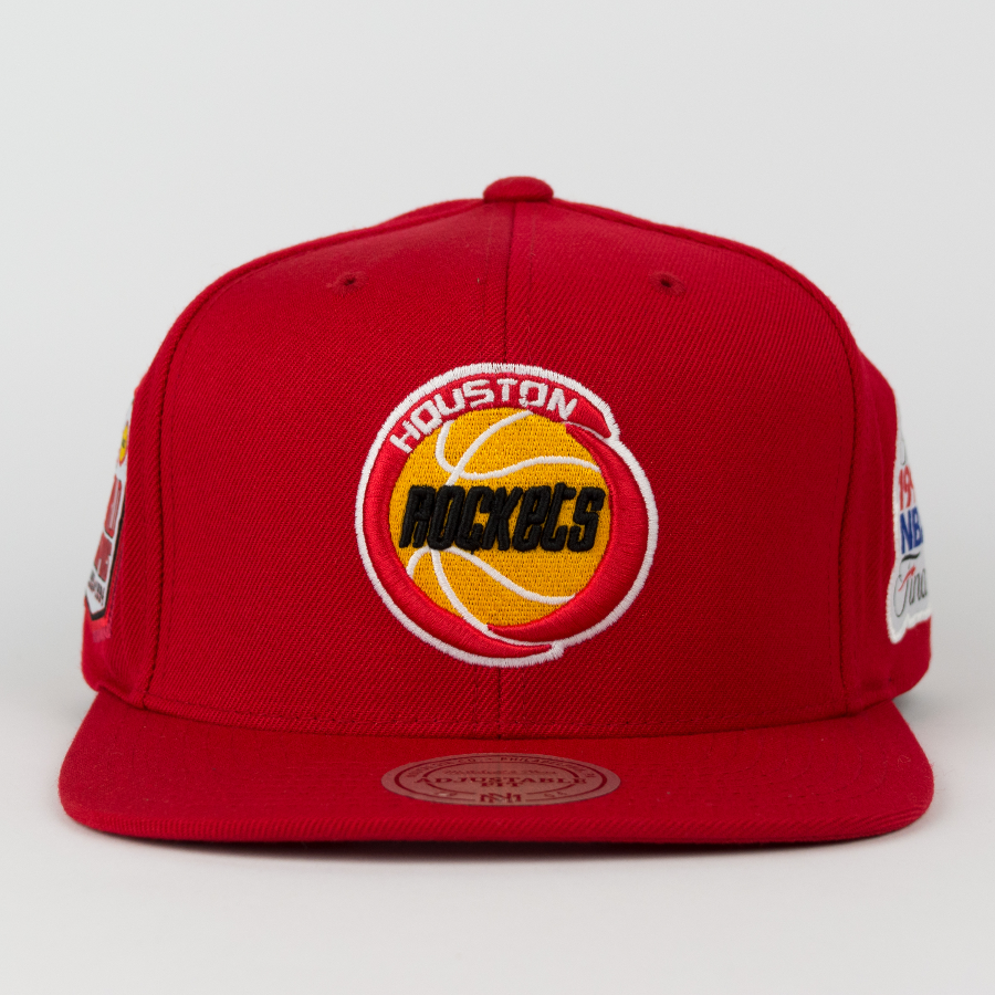 9dfcb2fc3eb Click to zoom  Mitchell and Ness Houston Rockets snapback Championship Pack  1993 94 Tilte ...
