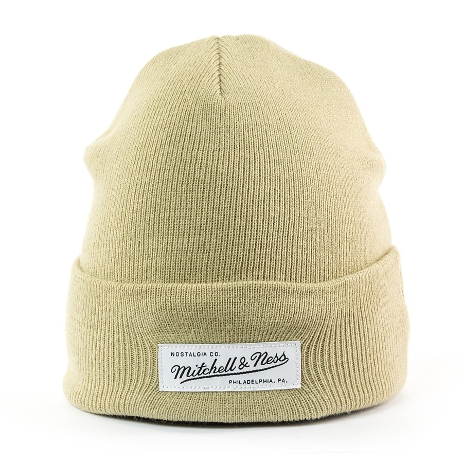 71d125a99fa45 Mitchell and Ness Nostalgia Cuff Knit sand Click to zoom ...