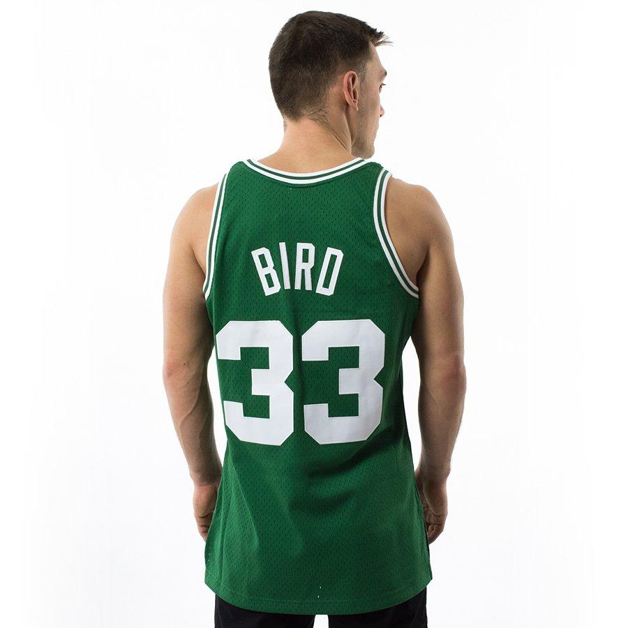 size 40 9f863 b6e9b Mitchell and Ness Swingman Jersey HWC Boston Celtics Larry Bird green
