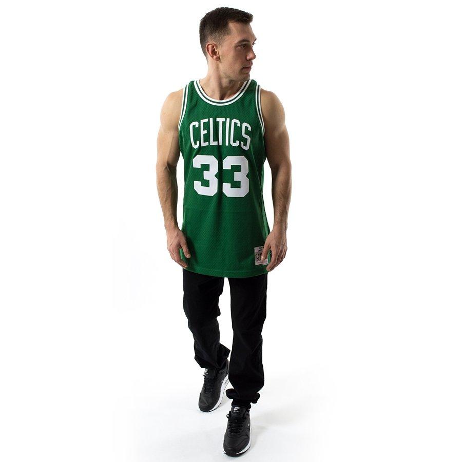 986569daba68 Mitchell and Ness Swingman Jersey HWC Boston Celtics Larry Bird ...