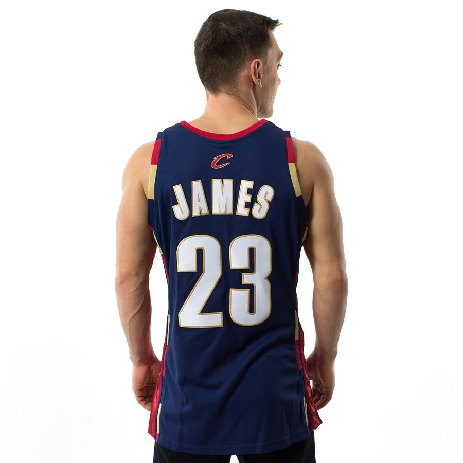 8c47d38a98d Click to zoom  Mitchell and Ness Swingman Jersey HWC Cleveland Cavaliers  LeBron James navy