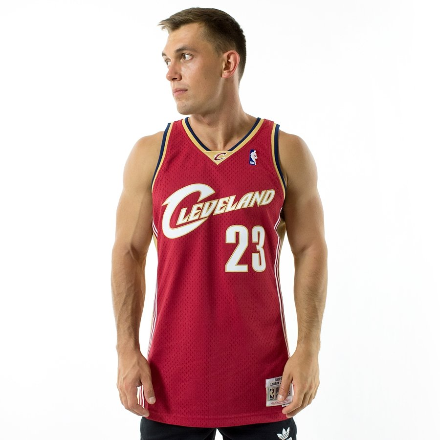 Click to zoom · Mitchell and Ness Swingman Jersey HWC Cleveland Cavaliers  Lebron ... 725ee7c85