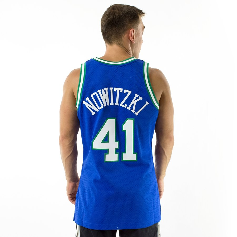 526b06533 Click to zoom · Mitchell and Ness Swingman Jersey HWC Dallas Mavericks Dirk  Nowitzki 1998-99 blue