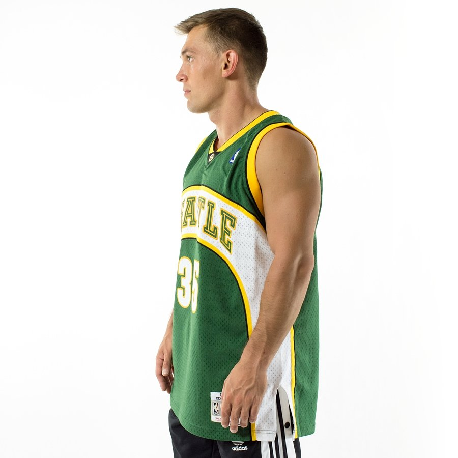 Click to zoom · Mitchell and Ness Swingman Jersey HWC Seattle SuperSonics  Kevin Durant ... ea96d365a
