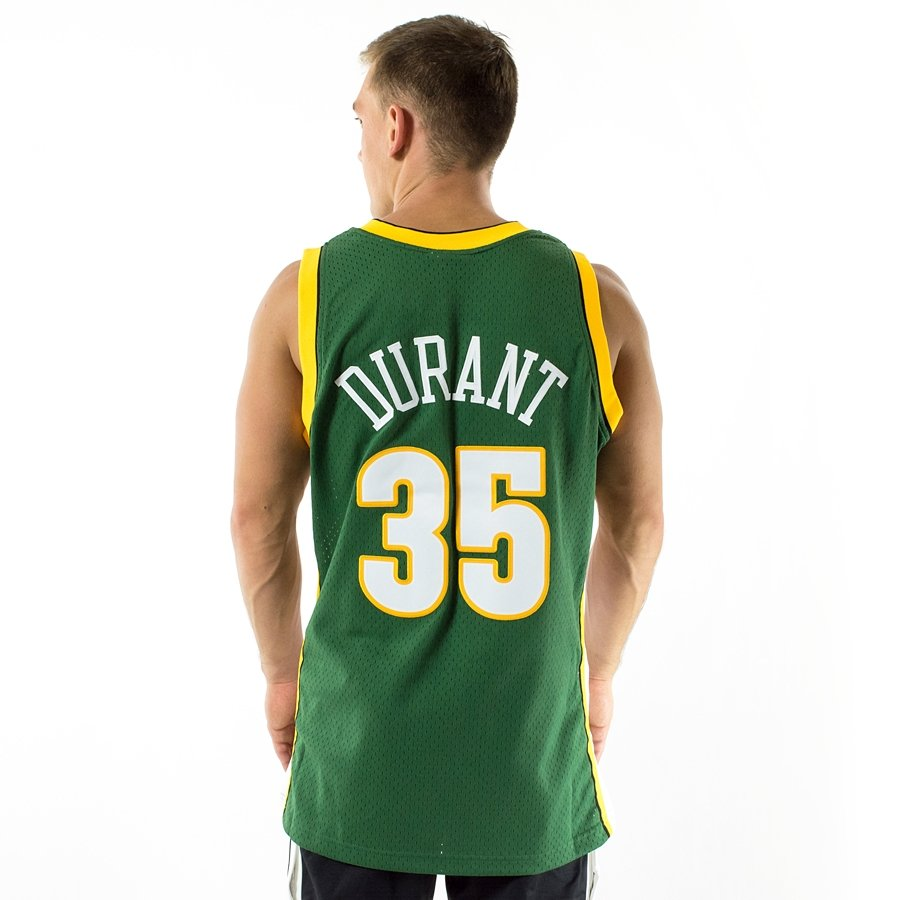 Click to zoom · Mitchell and Ness Swingman Jersey HWC Seattle SuperSonics  Kevin Durant ... db294fd33