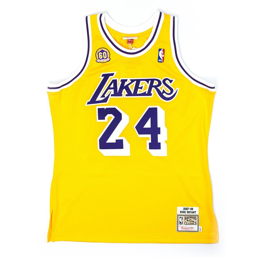 e73668aad93 Mitchell and Ness authentic jersey HWC Los Angeles Lakers Kobe Bryant 2007- 08 yelow Click to zoom ...
