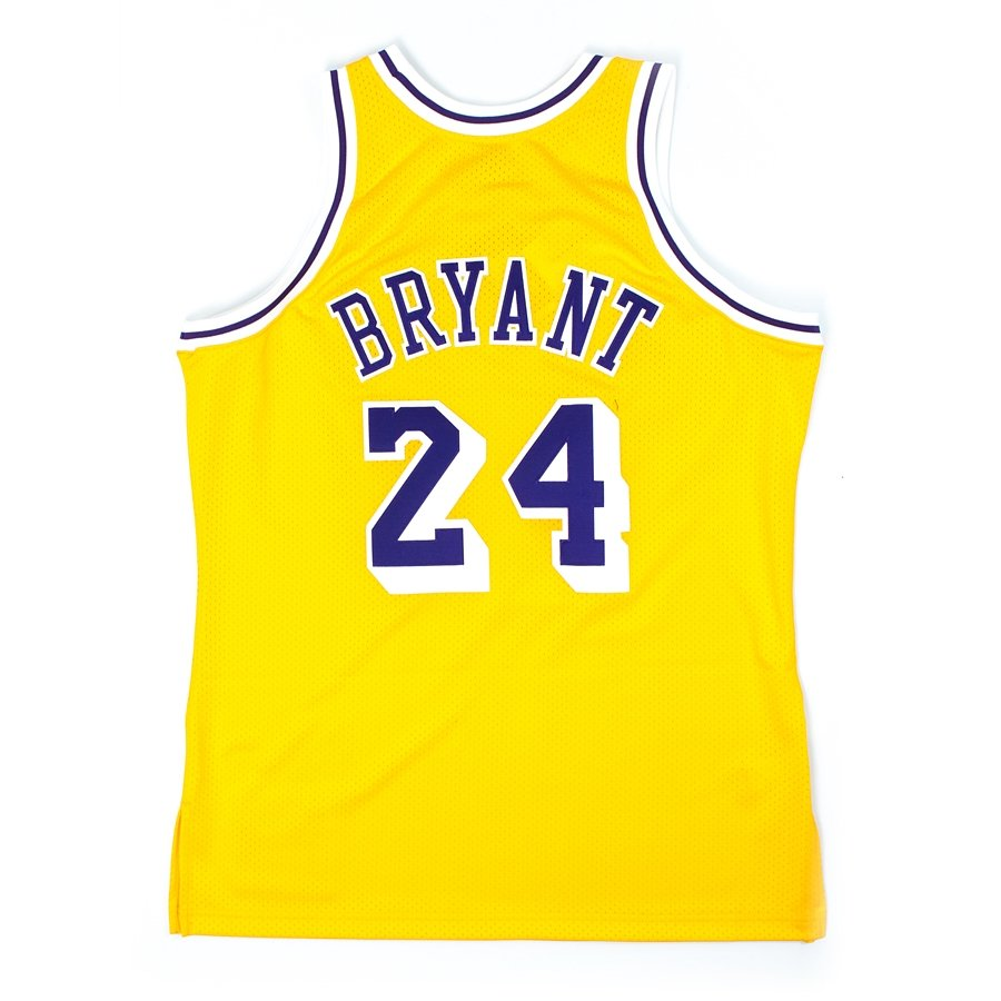 b03e5c02bad ... authentic jersey HWC Los Angeles Lakers Kobe Bryant 2007-08 yelow Click  to zoom ...