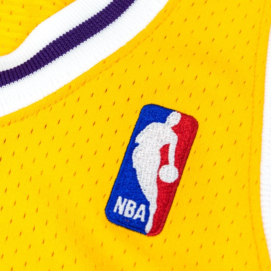 d6c091c38 Click to zoom  Mitchell and Ness authentic jersey HWC Los Angeles Lakers  Kobe Bryant 2007-08 yelow