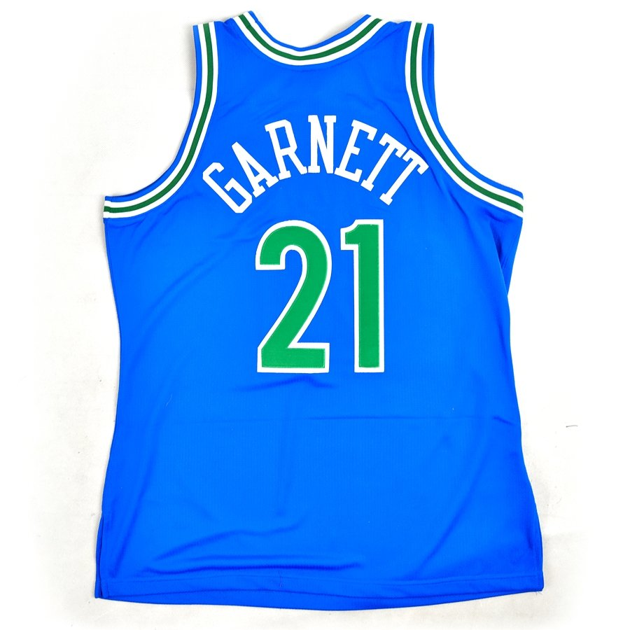 f636dad2c9e1 Click to zoom  Mitchell and Ness authentic jersey HWC Minnesota  Timberwolves ...