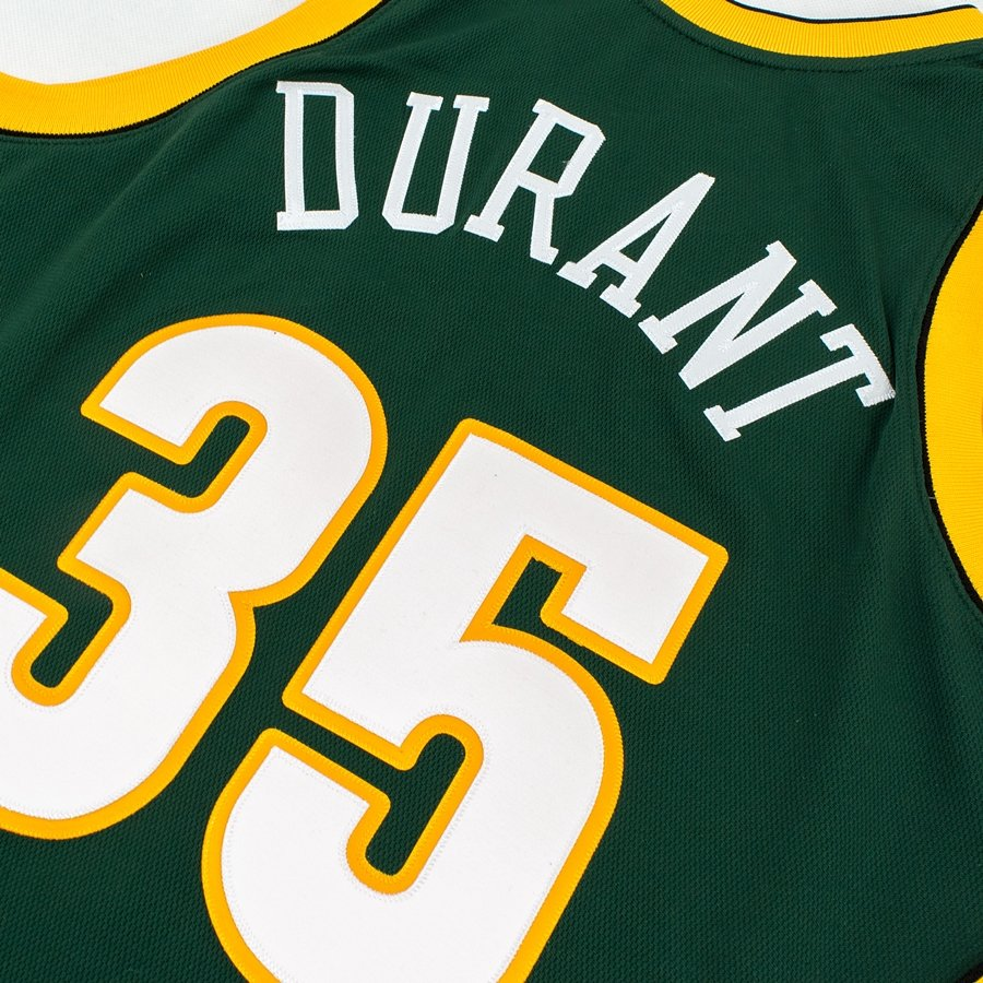 ... Mitchell and Ness authentic jersey HWC Seattle SuperSonics Kevin Durant  2007-08 green Click to zoom 68515c625