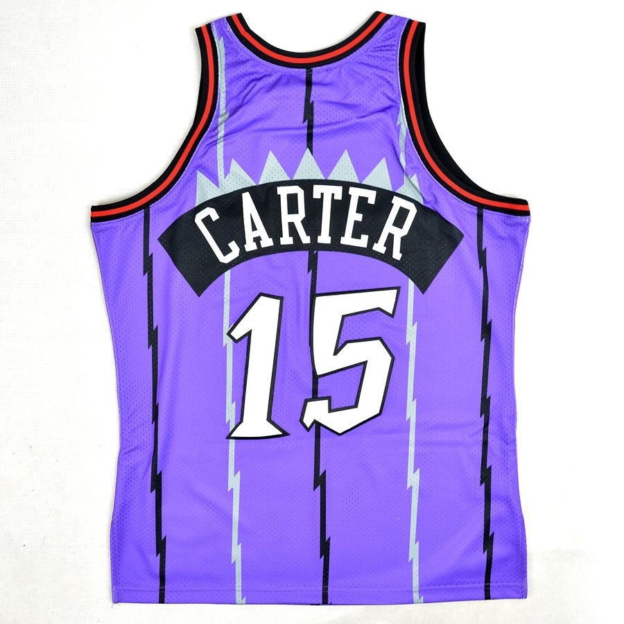 5c3838043ac0 ... jersey HWC Toronto Raptors Vince Carter Rookie Season away 1998-99  Click to zoom ...