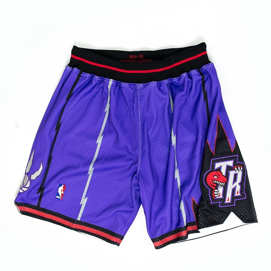 8773e5495 Mitchell and Ness authentic shorts HWC Toronto Raptors 1998-99