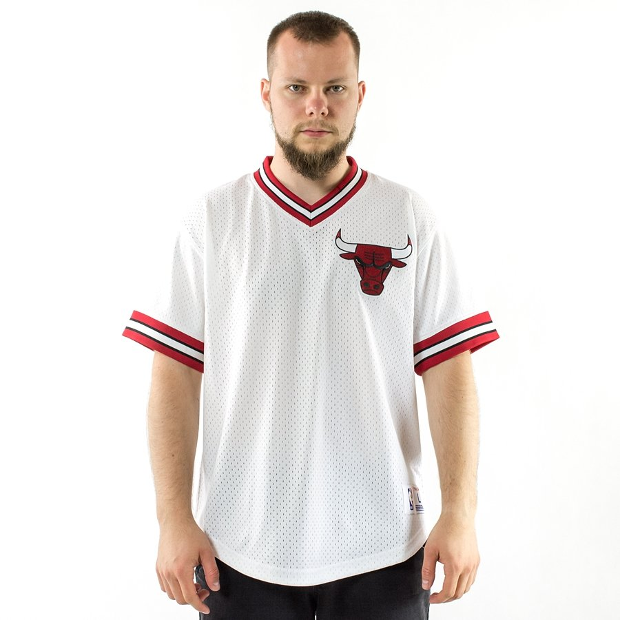 Mitchell and Ness jersey Mesh V-Neck Chicago Bulls white Click to zoom ... 649bab16c
