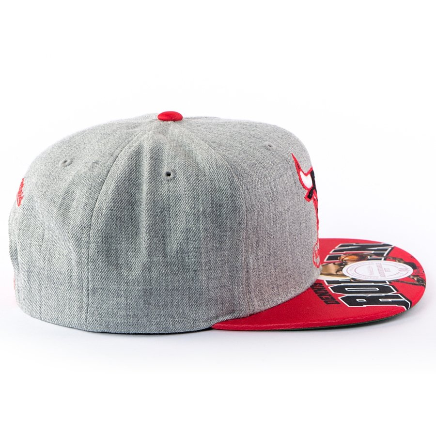 super popular 73b4e 75f40 Click to zoom  Mitchell and Ness snapback Caricature Dennis Rodman Chicago  Bulls grey Click to zoom  Mitchell ...