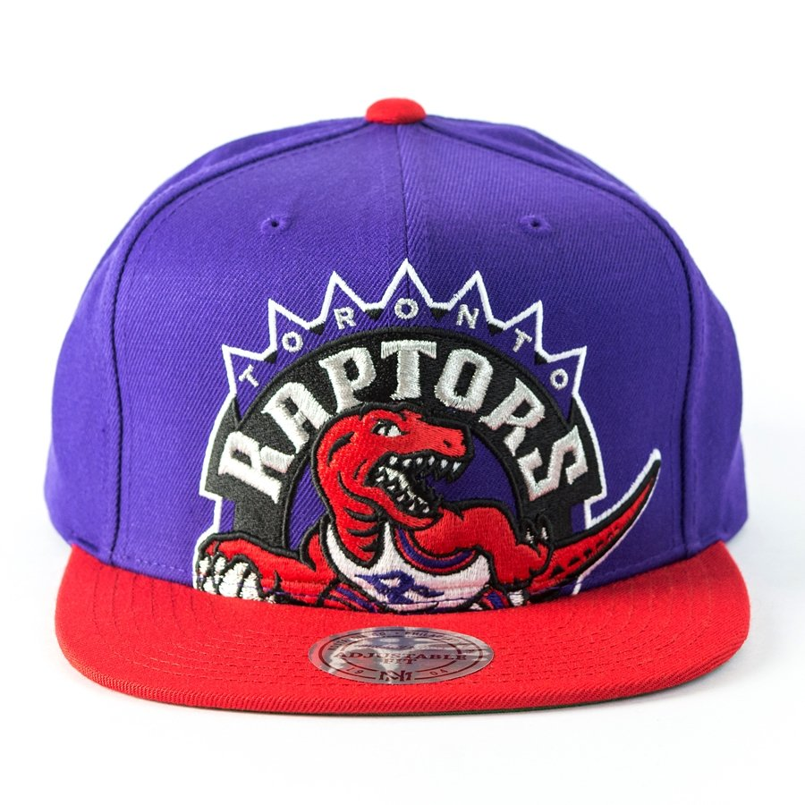 8c6ac565d ... snapback Cropped XL Logo Toronto Raptors purple / red Click to zoom ...