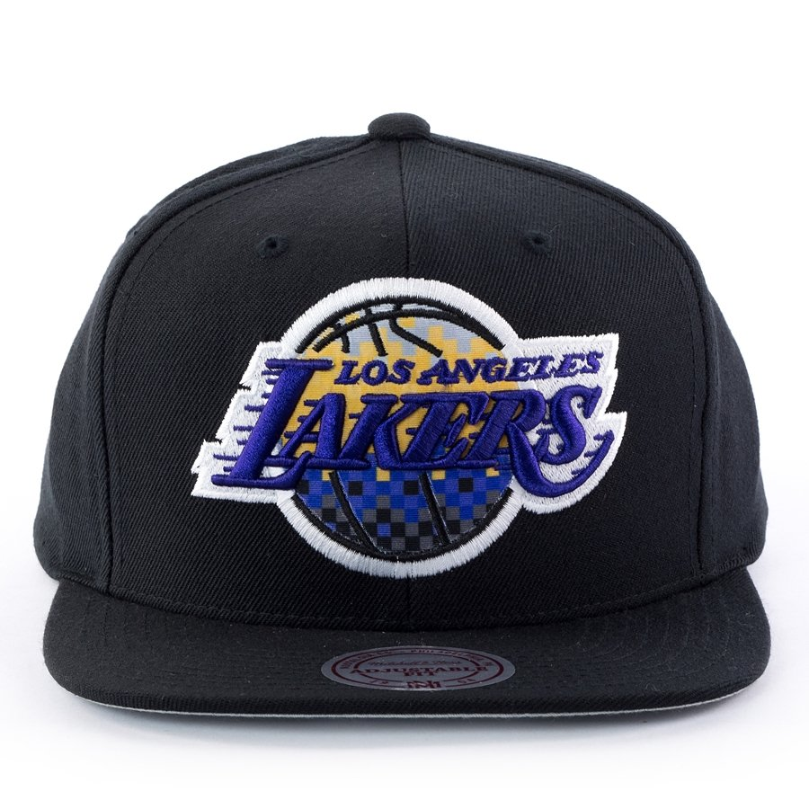 Mitchell and Ness snapback Easy Three Digital XL Los Angeles Lakers black  Click to zoom ... b8121da61fde