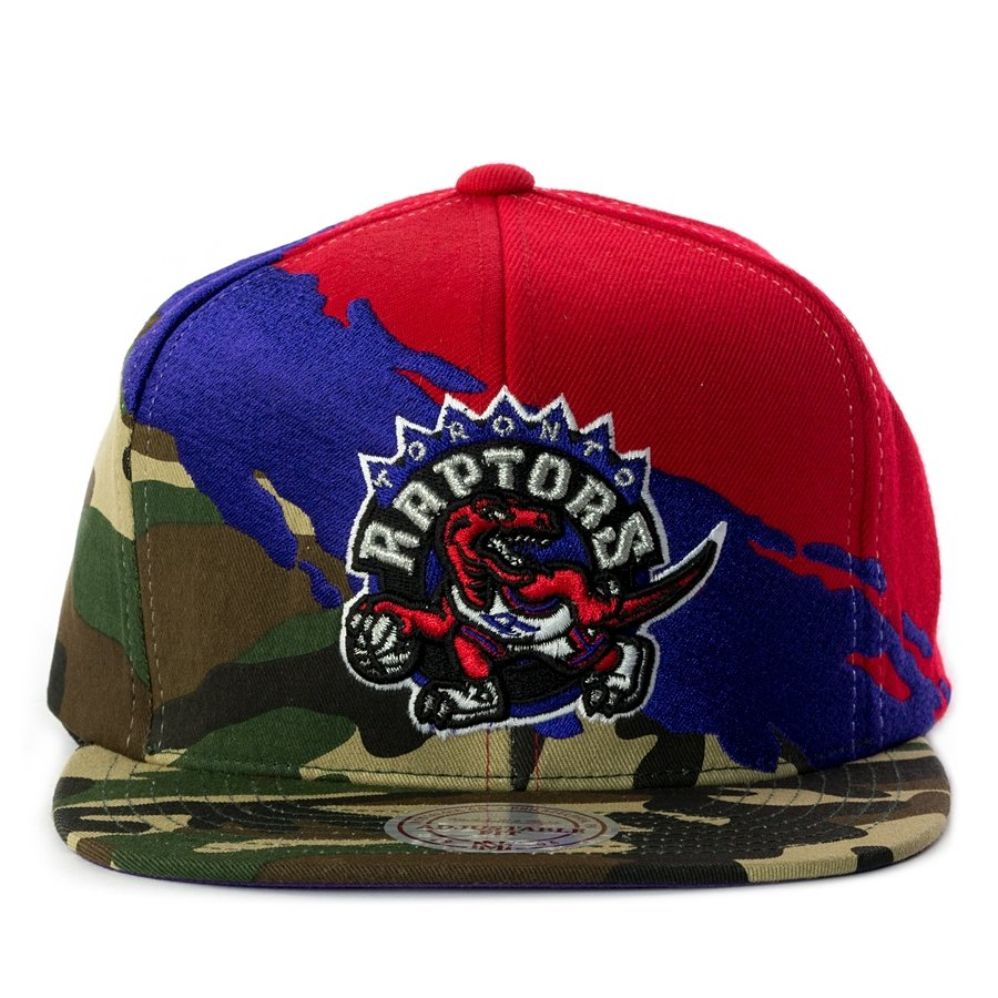 ed67360d41b9a Mitchell and Ness snapback Paintbrush Toronto Raptors camo Click to zoom ...