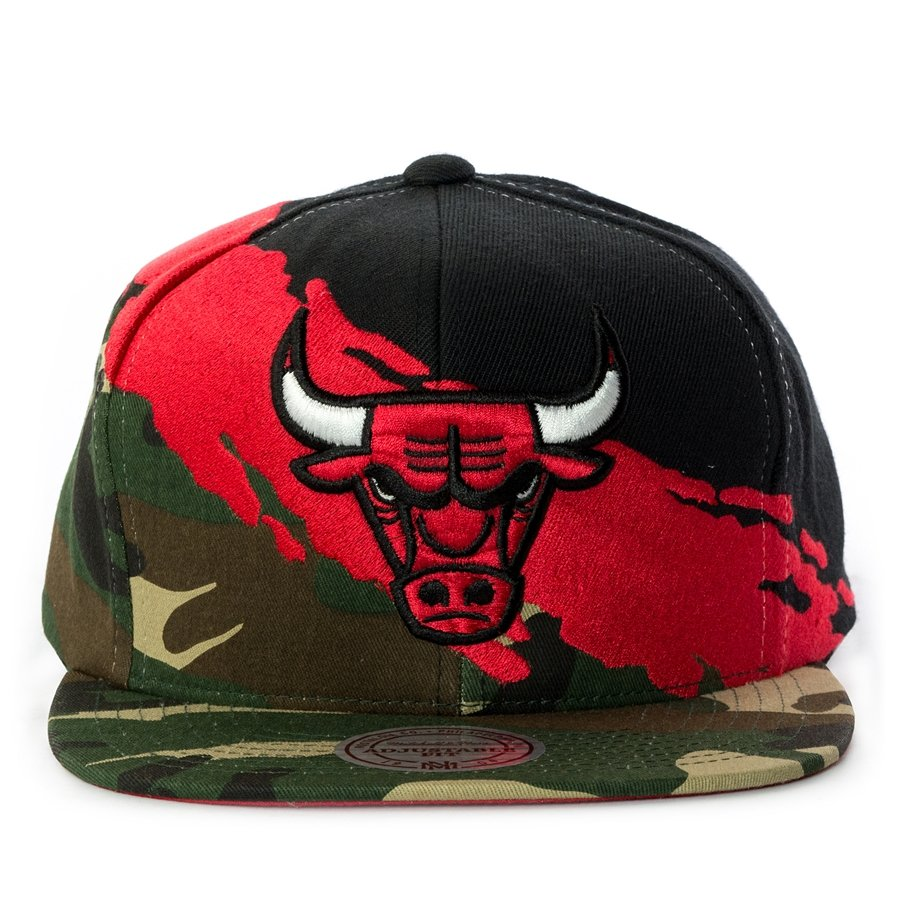 a66dd10b4dfda4 Mitchell and Ness snapback Paintbrush Toronto Raptors camo Click to zoom ...