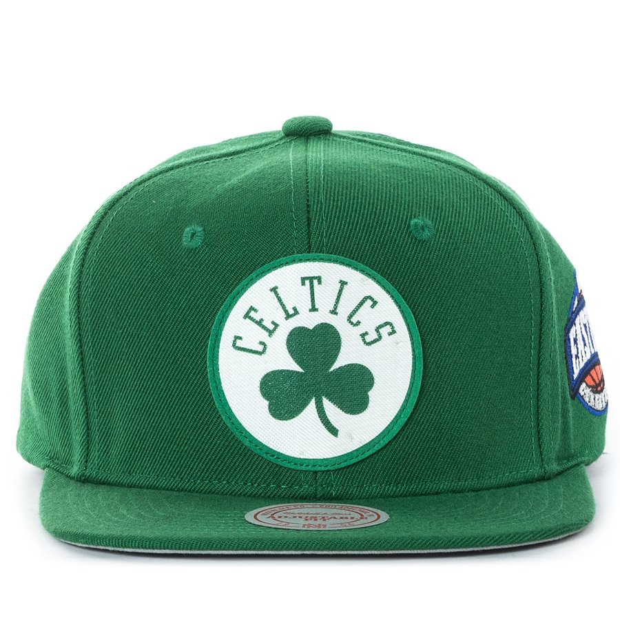 separation shoes 6cb01 f9269 Mitchell and Ness snapback Silicon Grass Boston Celtics green Click to zoom  ...