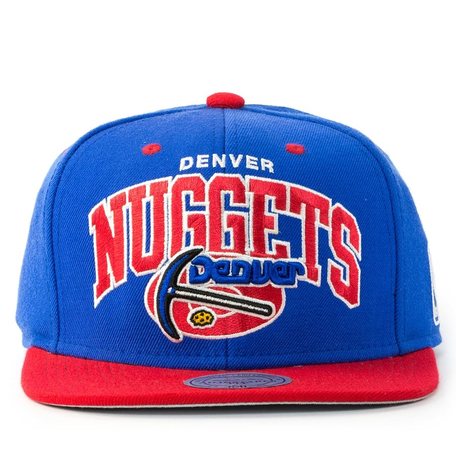 quality design 8a0d9 b7594 ... greece mitchell and ness snapback team arch denver nuggets blue click  to zoom b6d58 4f2ce ...