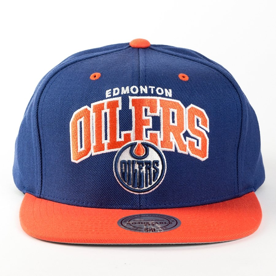 watch 52ce2 d0d11 Mitchell and Ness snapback Team Arch Edmonton Oilers navy / orange