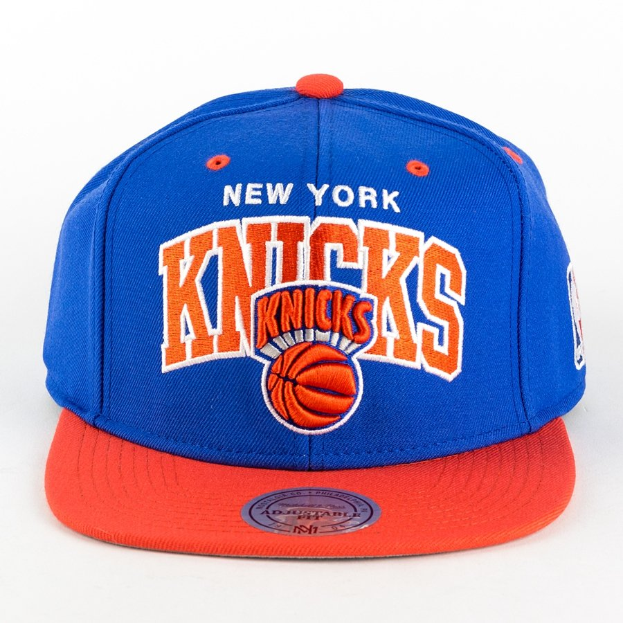 9a6730ae5f7 Mitchell and Ness snapback Team Arch New York Knicks royal New York ...