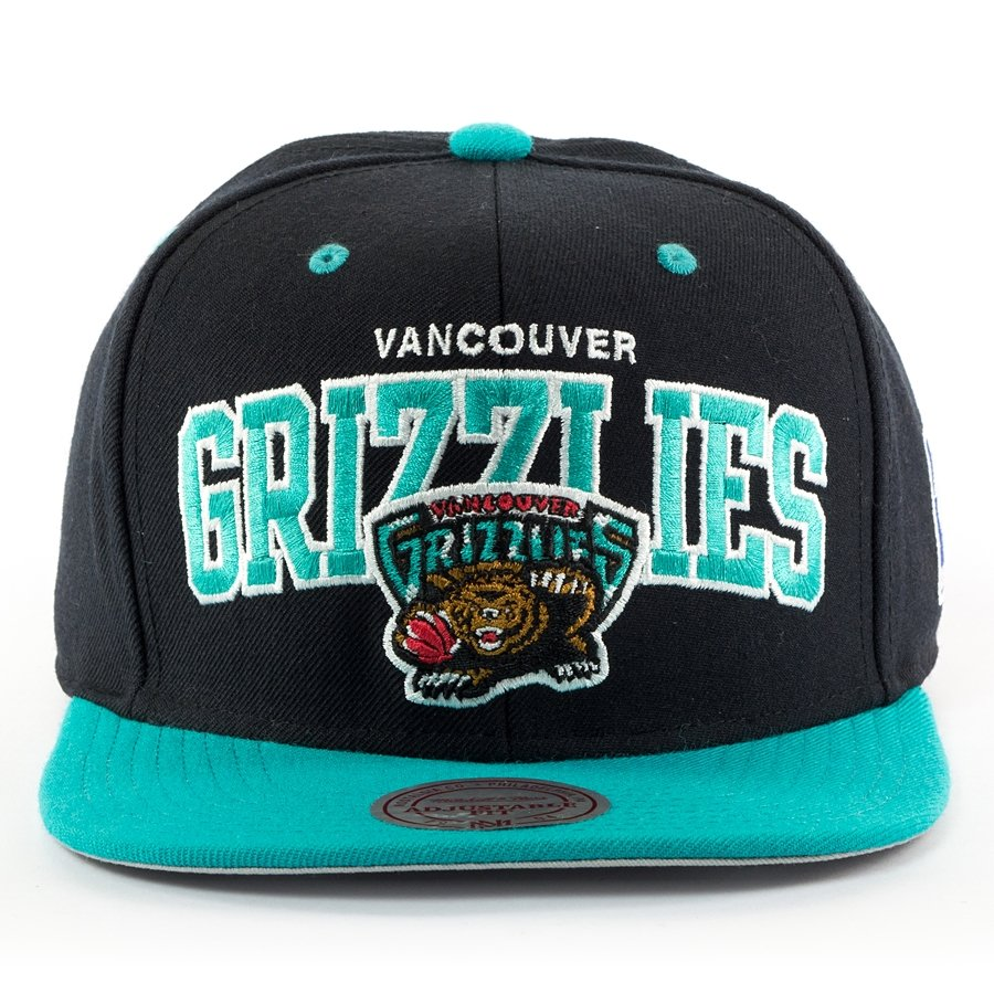 c1bc684be Mitchell and Ness snapback Team Arch Vancouver Grizzlies black Click to  zoom ...