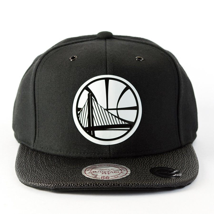 aea39a66255dd7 Mitchell and Ness snapback Ultimate Golden State Warriors black Click to  zoom ...