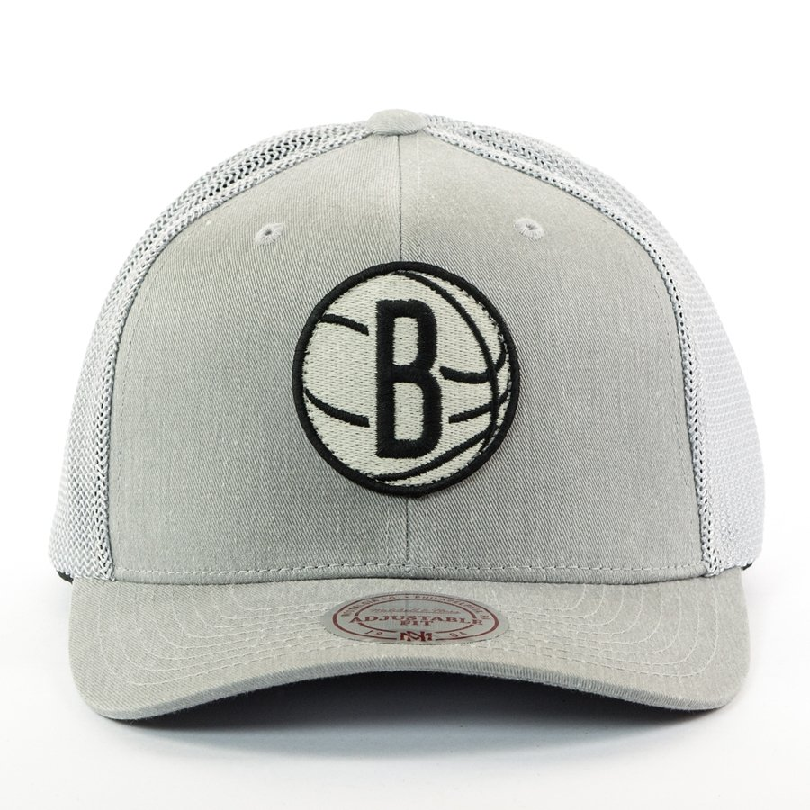 1df1a98889e95 Mitchell and Ness snapback Washout 110 Flexfit Brooklyn Nets grey Click to  zoom ...