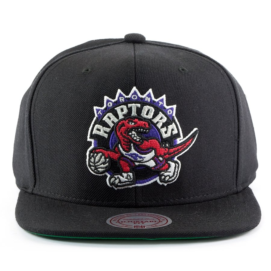 best sneakers 6ff88 6f403 Mitchell and Ness snapback Wool Solid 2 Toronto Raptors black Click to zoom  ...