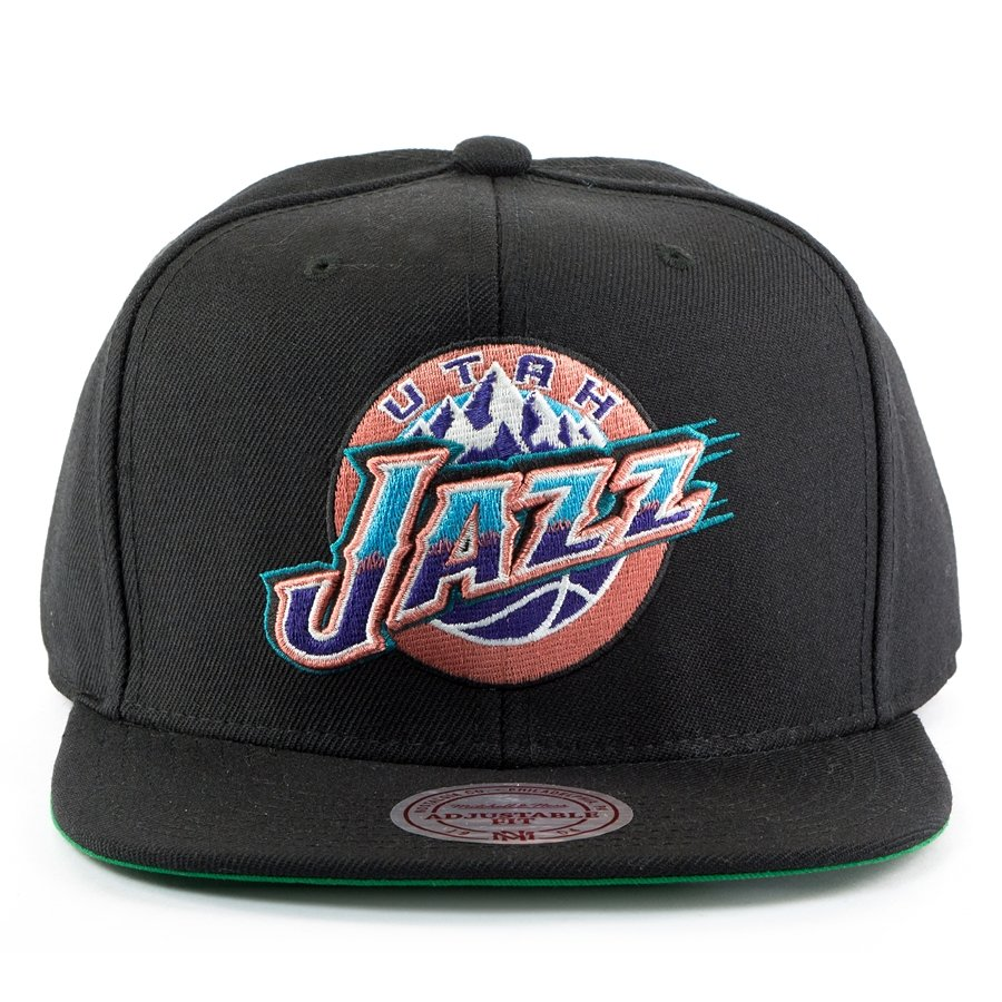 best website 80def c1eb7 Mitchell and Ness snapback Wool Solid 2 Utah Jazz black Click to zoom ...