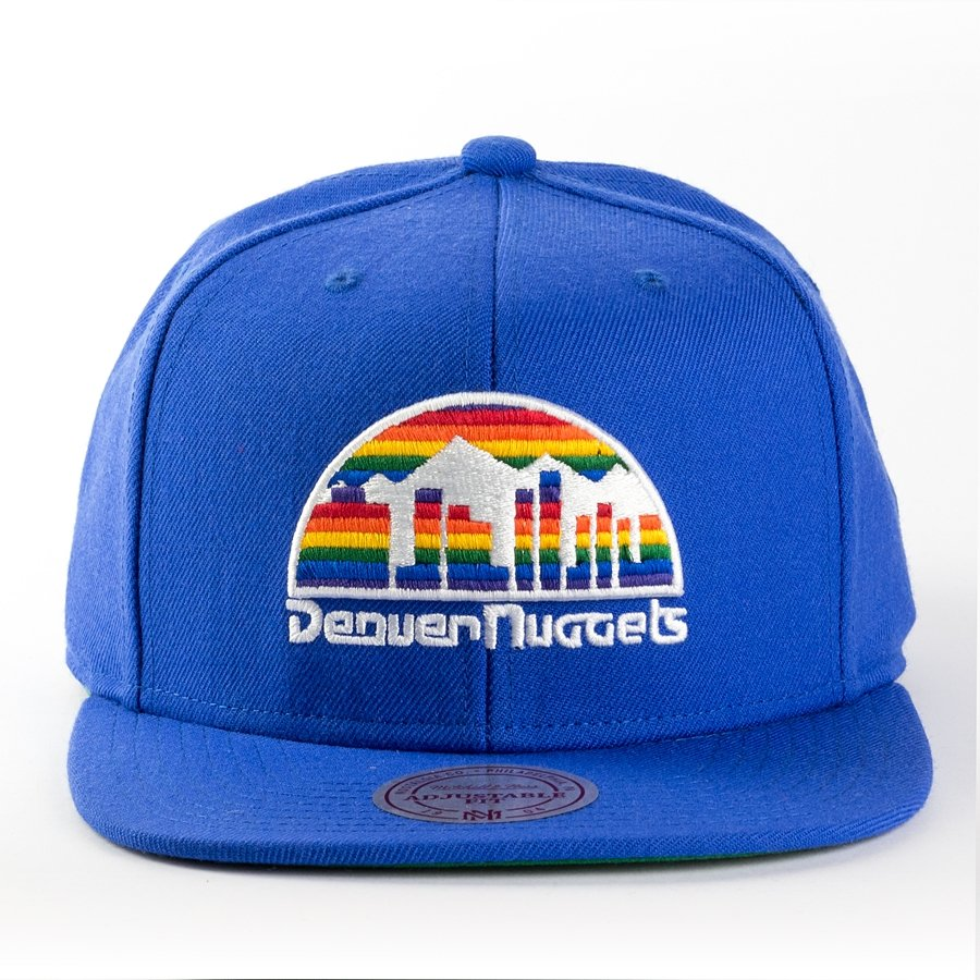 44b73c69224 Mitchell and Ness snapback Wool Solid Denver Nuggets blue Click to zoom ...