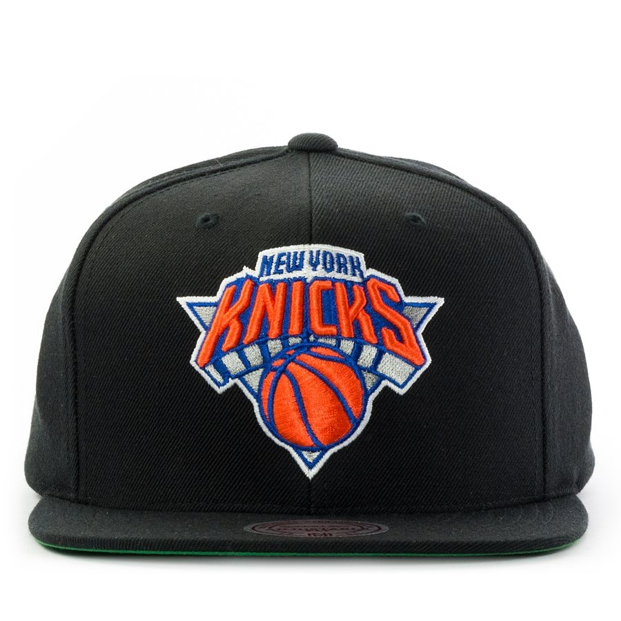 d8c0b4fbbea Mitchell and Ness snapback Wool Solid New York Knicks black Click to zoom  ...