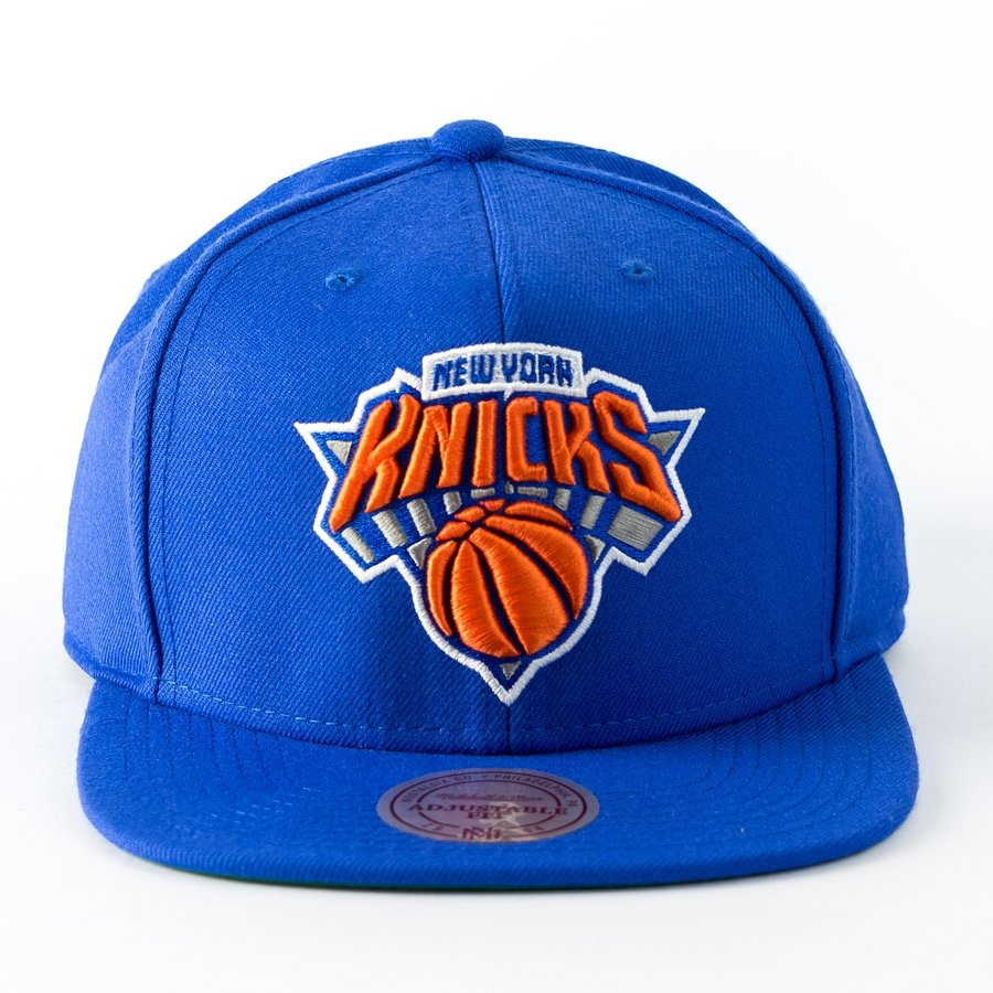 d4a410ff2edad Mitchell and Ness snapback Wool Solid New York Knicks blue Click to zoom ...